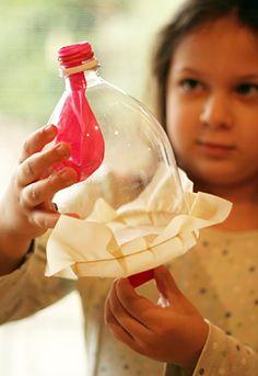 Soda Bottle Lung Model