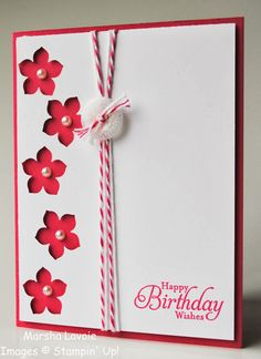 Stamping with Marsha: Petite Petals - Also at: http://www.splitcoaststampers.com/gallery/photo/2497337?&si=Petite%20petals