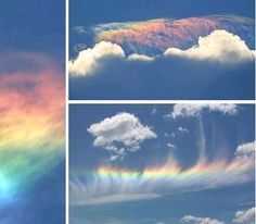 Rainbow God is always Combined with Rainbow Nature God is always amazing & super rare to see it.  ❤