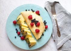 SMYKWKUCHNI: Dietetyczny omlet z owocami
