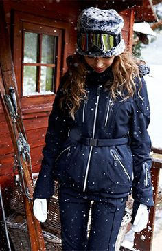 If we ever go skiing, I'd like to dress like this! (Snow statement | Sweaty Betty)