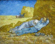 Vincent Willem van Gogh - La Meridienne