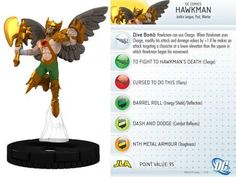 "Hawkman #011 Justice League ""New 52"" Singles DC Heroclix - Justice League \'New 52\' - DC Heroclix - HeroClix - Miniatures"