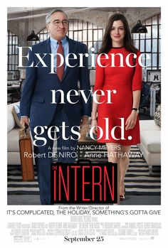 The Intern doesn't do enough with its timely premise, but benefits from the unorthodox chemistry of its talented leads.
