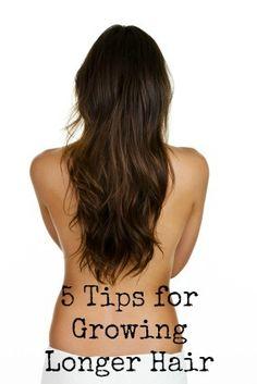5 Tips for Growing Longer Hair via @Tom John John John John Trimm Magic even though my hair is already getting long.. Lol this is good idea.
