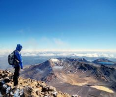 WE TRAVEL THE WORLD ✈️ 🌎 (@wetraveltheworld) Instagram: Above the clouds, on top of the world! One of the most amazing one day hikes we've ever made. The Tongariro Crossing in New Zealand