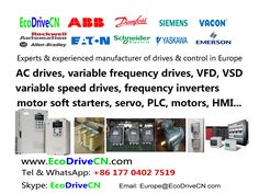 EcoDriveCN® drives: An industry leading manufacturer in Europe of AC variable speed drives (variable frequency drives, VSD, VFD, frequenzumrichter, variador de frecuencia, inversores de frequencia, AC drives), servo, motor soft starters, EMI filters, AC/DC reactors. Engineering drives solutions and systems that give peace of mind to our worldwide customer base through improved energy saving, increased productivity and manufacturing efficiency. http://www.EcoDriveCN.com/areas/europe/