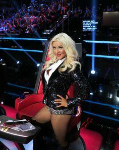"""Christina Aguilera es multada por impuntual en """"The Voice"""""""