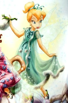 Concept art and behind the scenes of anything Disney Fairies related. All the art is official unless stated otherwise. Tinkerbell And Friends, Tinkerbell Disney, Tinkerbell Fairies, Arte Disney, Disney Fairies, Disney Magic, Disney Art, Hades Disney, Princesas Disney Dark