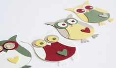 Christmas DIY Owl kit by diecut4you on Etsy, $4.10