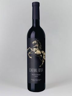 Cheval d'Or Wines / Designed by Studio Botes, South Africa