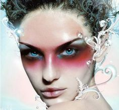 Image detail for -Frosty High Fashion Fantasy Makeup | Beauty Tips N Tricks