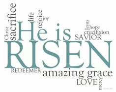 Easter is my favorite holiday. because Christ our savior is risen! today, over thousands of years ago, Jesus Christ arose from the dead. something never thought of. crucified, beaten, hung on a cross. and 3 days later.he is risen. Easter Quotes Christian, Easter Poems, Easter Sayings, Easter Verses, Happy Easter Quotes, Jesus Easter, He Is Risen Indeed, Gospel Reading, Resurrection Day