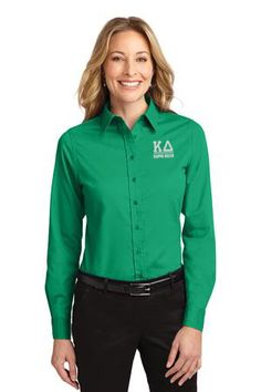 Kappa Delta Greek Letter Oxford from GreekGear.com