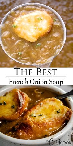 Soup recipes 720857484092985237 - This easy French Onion Soup recipe can be made in the Slow Cooker, Stove Top, or Instant Pot. Your family will love this traditional recipe. Cooker Recipes, Crockpot Recipes, Best French Onion Soup, Onion Soup Recipes, Tasty Soup Recipes, French Onion Soup Recipe Slow Cooker, French Onion Soup Ingredients, Slow Cooker Soup, Recipes