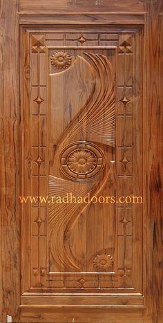 Single Main Door Designs, House Main Door Design, Main Entrance Door Design, Wooden Front Door Design, Double Door Design, Bedroom Door Design, Wooden Front Doors, Door Design Interior, Wooden Double Doors