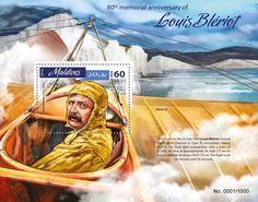 MLD16402b 80th memorial anniversary of Louis Bleriot (Louis Bleriot (1872-1936))