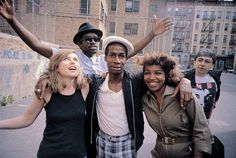 Debbie Harry, Fab Five Freddie, Grand Master Flash, Chris Stern