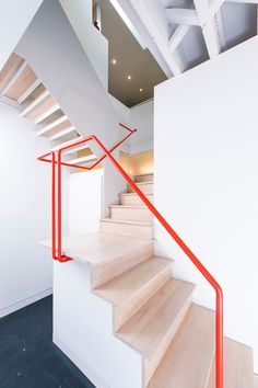 Industrial Staircase by E/L STUDIO