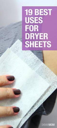Best uses around the house for dryer sheets.