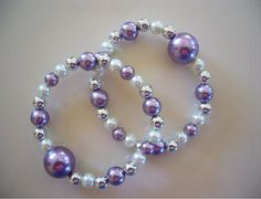 """Queasy Beads Motion Sickness Bracelets in """"Lovely Lavender"""" by QueasyBeads, $19.95"""