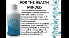 ASEA is 100% native to your body, so your cells already know how to put it to use in healing at the cellular level. Find out more at www.saude.teamasea.com