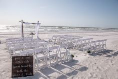 #beachwedding #beachceremony #destinationwedding #floridawedding #weddingdecor Gulf Coast Beaches, Florida Beaches, Treasure Island Beach, Sunset Beach Weddings, Beach Wedding Packages, St Pete Beach, Destination Wedding Locations, Beach Ceremony, Clearwater Beach