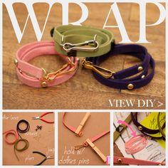 DIY Studded Bracelets Feature www.trinketsinbloom.com