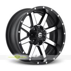 Fuel Maverick Finish: Machined Black  More info: http://www.wheelhero.com/customwheels/Fuel/Maverick-Machined-Black