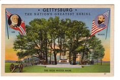 Gettysburg The Nation's Greatest Shrine by PostcardStore on Etsy, $6.00