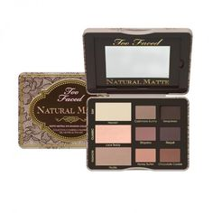Too Faced - Natural matte eyeshadow palette: these colours are so perfect for pretty much any look