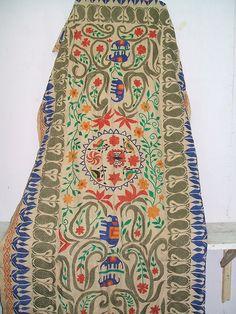 Embroidery   Matka katha work   Photographer: Papri Kargupta   Source; Flickr   #embroidery #India