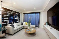Metricon Homes Lounge sheer elegance