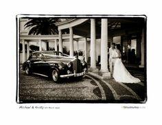 'Elizabeth' our beautiful 1955 Rolls-Royce Silver Cloud at Palazzo Versace wedding.