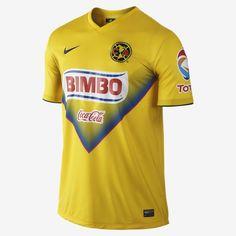 2013/14 Club America FC Stadium Men's Soccer Jersey