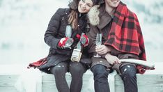 It's impossible not to smile when you share a bottle of Okanagan Bubbly from Haywire with your loved ones. How do you share your Haywire The Bub during the holidays? Crushes, Winter Jackets, Smile, Holidays, Bottle, Winter Coats, Holidays Events, Winter Vest Outfits, Holiday