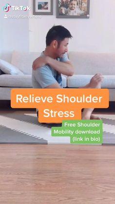 Exercises For Shoulder Pain, Shoulder Mobility Exercises, Rotator Cuff Exercises, Lower Back Pain Exercises, Posture Exercises, Shoulder Workout, Shoulder Pain Relief, Shoulder Joint, Shoulder Muscles