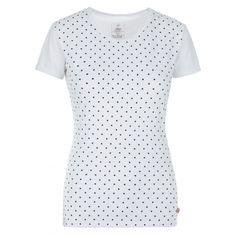 Kilpi MERSI-W White dámske bavlnené tričko | Regatta Cloth Bags, Polka Dot Top, Short Sleeve Dresses, Outdoor Stuff, Clothes, Women, Products, Fashion, Figurine