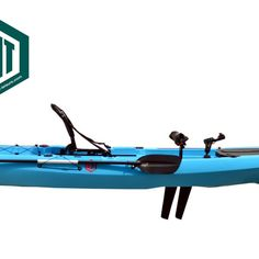 Fishing pedal fin drive kayak from Leisure kayaks Pedal Kayak, Kayaks, Fishing, Blue, Fishing Rods, Kayaking, Canoeing, Gone Fishing
