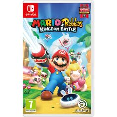 Buy a used Mario plus Rabbids Kingdom Battle Nintendo Switch Game. ✅Compare prices by UK Leading retailers that sells ⭐Used Mario plus Rabbids Kingdom Battle Nintendo Switch Game for cheap prices. Little Big Planet, Nintendo Switch System, Nintendo Switch Games, Mario Kart 8, Yoshi, Playstation, Donkey Kong, New Super Mario Bros, Nintendo Console