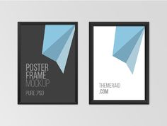 70 Hand-Picked Free Poster Mockups for You