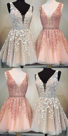 Short A-line V-neck Beaded Sashes Tulle Prom Hom .- Kurze A-Linie mit V-Ausschnitt Perlen Schärpen Tüll Prom Homecoming Kleider Spitze Stickerei Short A-line V-neck Beaded Sashes Tulle Prom Homecoming Dresses Lace Embroidery - Lace Homecoming Dresses, Hoco Dresses, Tulle Prom Dress, Dresses For Teens, Bridesmaid Dresses, Beaded Dresses, Short Dresses For Prom, Sexy Dresses, Dresses Online