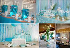 ocean themed bridal shower | ... World: Wedding Inspirations: Kelsey's Under the Sea Bridal Shower