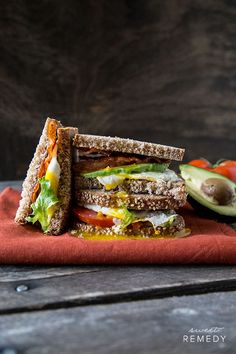 Egg and Avocado BLT with Chipotle Mayo | Sweet-Remedy.com