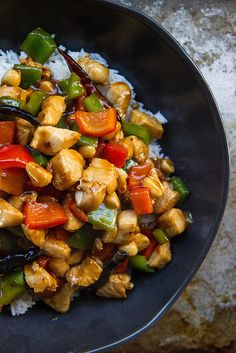 Kung Pao Chicken - take out fake out!