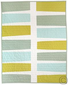 Modern handmade baby quilts | BPerrino Quilts -- gorgeous!