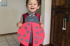 Make a big ladybug