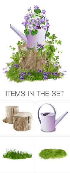 """""""Gift Set for """"February Violet"""" Contest"""" by emjule ❤ liked on Polyvore featuring art"""