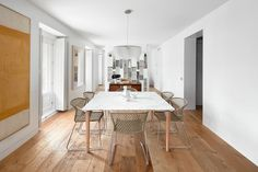 Casa Madrid, 2015 - Lucas y Hernández-Gil Arquitectos Madrid, Dining Area, Dining Table, Spanish Style, Furniture Collection, Home Decor Items, House Tours, Hardwood Floors, 19th Century