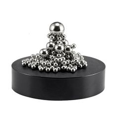 This magnetic sculpture stainless steel ball desk toy is ideal for any office and offers intelligence development and stress relief apart from just being a bit of fun.